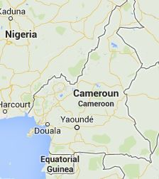 mapa-Camerún