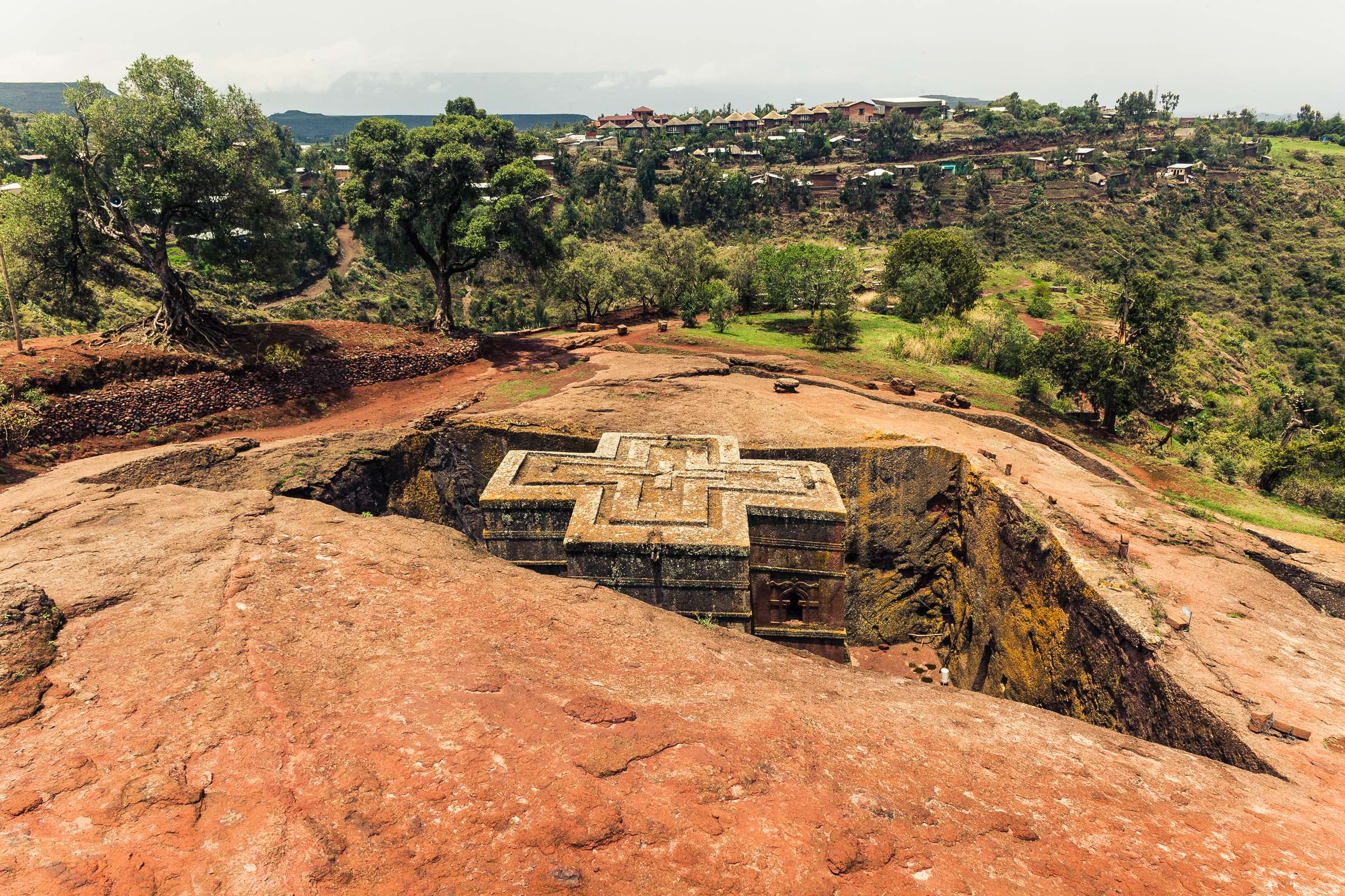 St. George Church in Lalibela Ethiopia