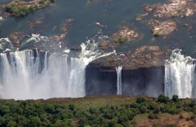 Cataratas Victoria con Botswana