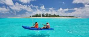 Una de las actividades de Kayak que se pueden realizar desde Bird Island