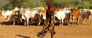 Mujer de la Tribu Hamer en el sur de Etiopía