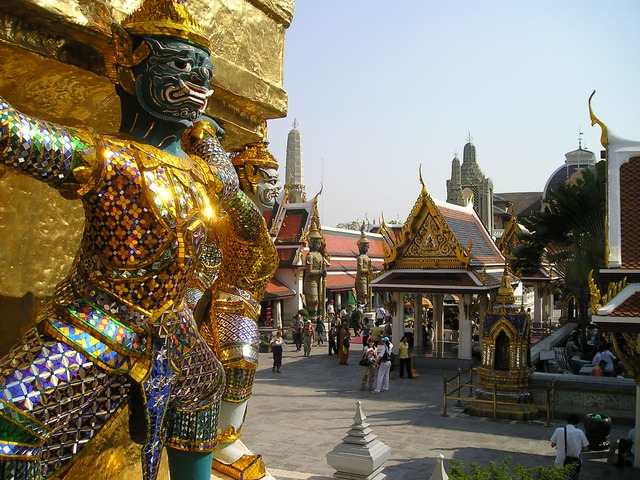 Palacio Real en Bangkok, Tailandia