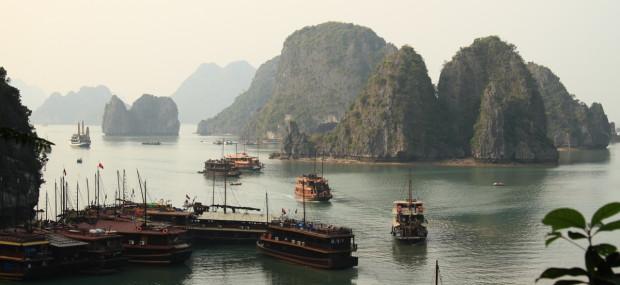 Bahía de Ha-Long en Vietnam