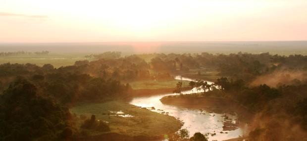 Parque del Serengeti en Tanzania