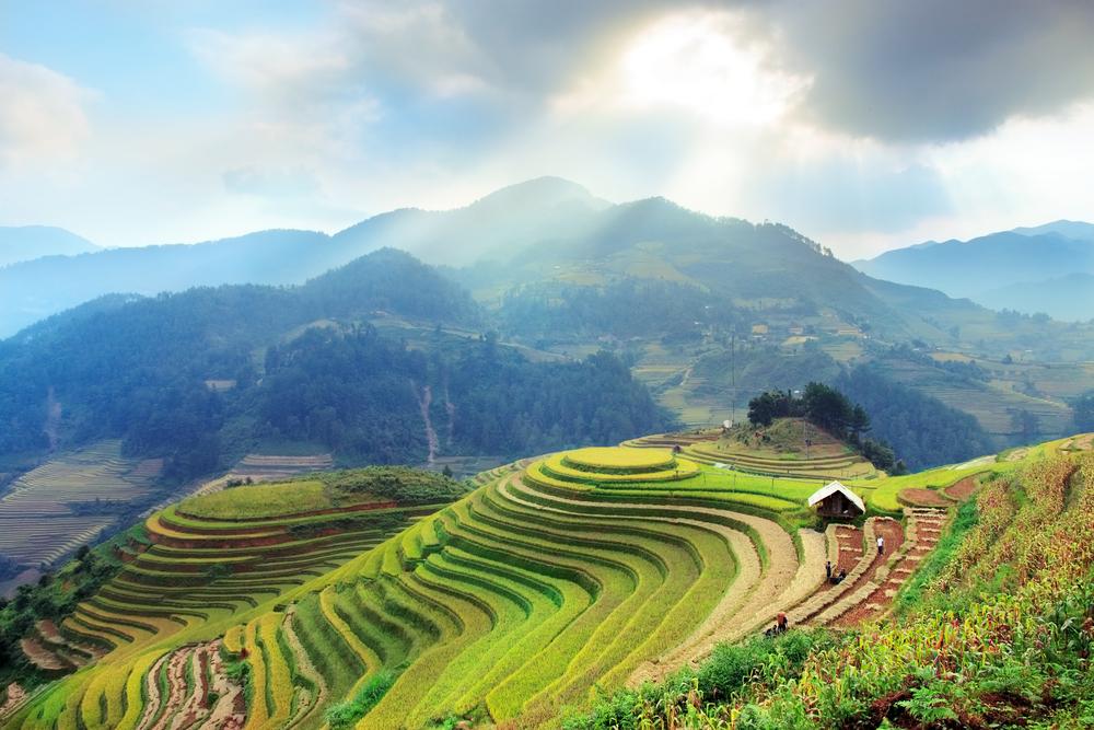 Región de Sapa en el norte de Vietnam