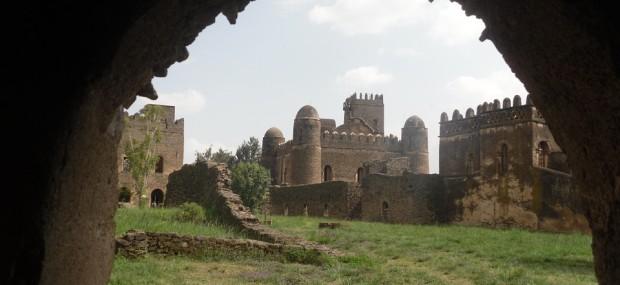 la fortaleza de gondar en etiopía