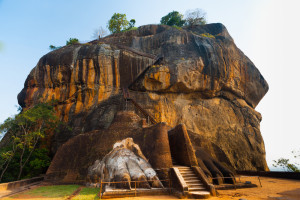 Roca de León en Sigiriya Sri Lanka