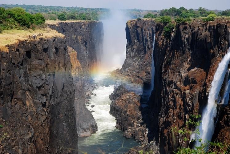 Cascada en Zambia