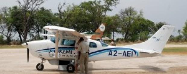 Helicóptero en África