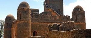Uno de los castillo que podemos encontrar en la ciudad de Gondar, al norte de Etiopía.