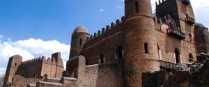 Castillo del rey Fasilidas en Gondar, Etiopía