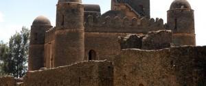 Uno de los castillos que se visitan en Gondar, Etiopía.