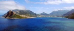 Preiosa foto de Hout Bay que se encuentra muy cerca de Ciudad del Cabo, Sudáfrica.