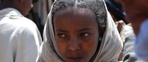Mujer amaríca en uno de los mercados de Etiopía.