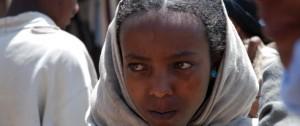 Mujer Amaríca en mercado de Lalibela, Etiopía