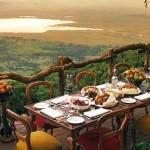 Alojamiento Ngorongoro Crater Lodge en Tanzania