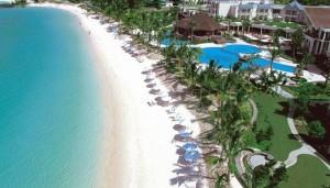 Fotografia de la playa del Hotel The Residence Mauritius