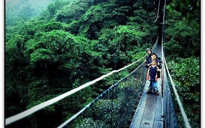 Actividad de aventuras en Costa Rica