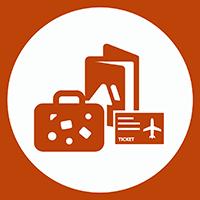 Organización de viajes: alojamiento, rutas y vuelos