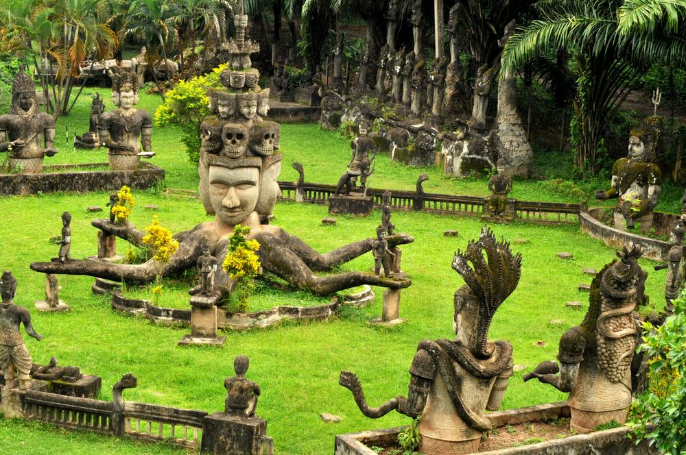 Parque de Budas en Vientiane Laos