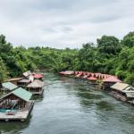 Río en Tailandia.