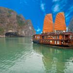 Uno de los lugares más hermosos de la Bahía de Halong en Vietnam