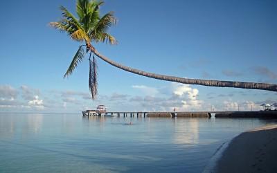 Playa en Indonesia